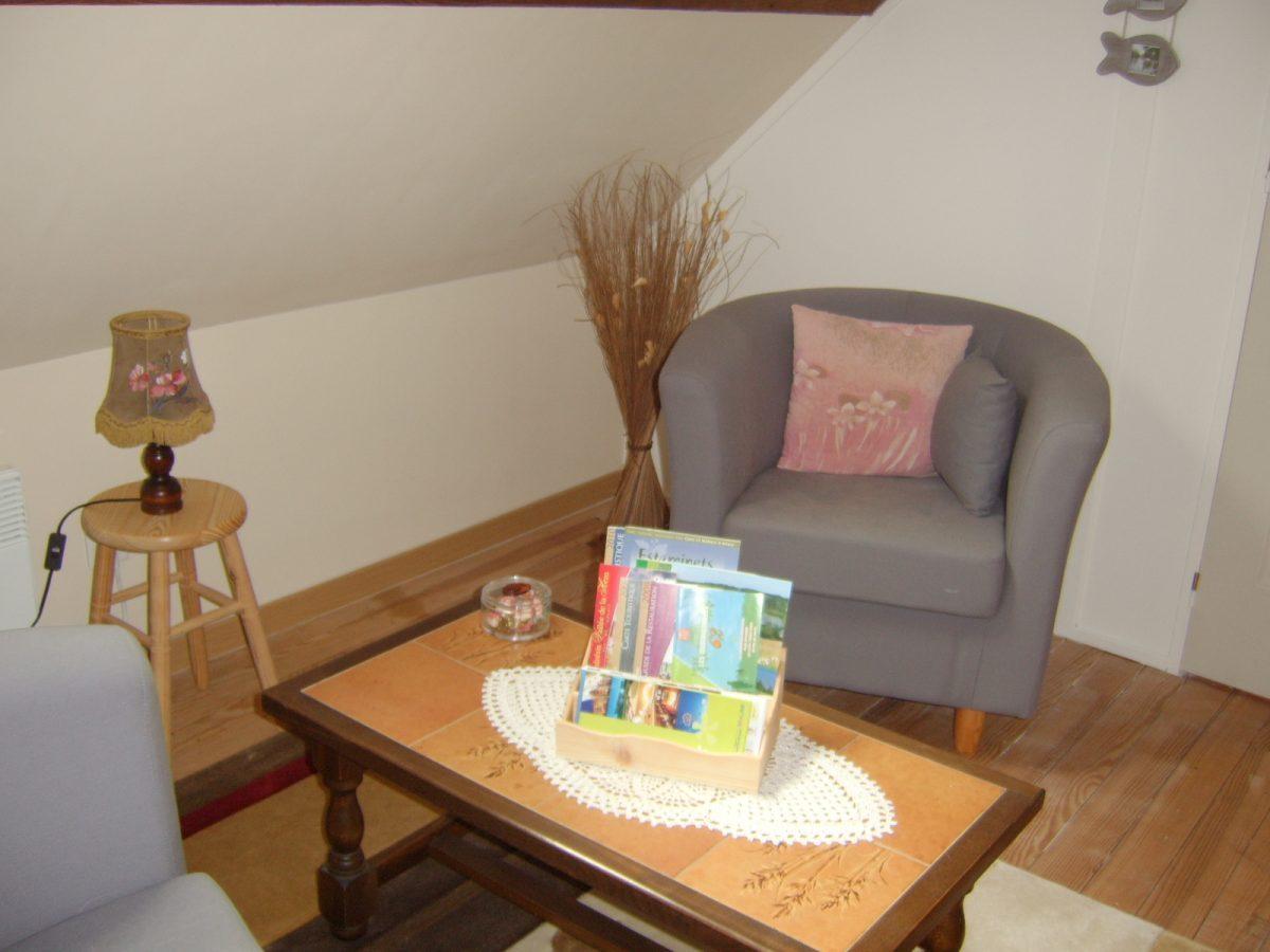 Salon privatif chambre d'hôtes Maison Rêve